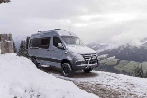 Mercedes-Benz auf der Caravan Motor Touristik 2020: Messeauftritt im Zeichen der Konnektivität Foto: Der James Cook von Westfalia mit Mercedes-Benz Advanced Control, MBAC (Prototyp)