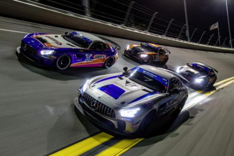 Customer Racing: Saisonauftakt 2020: Mercedes-AMG Motorsport startete mit neuem GT3-Fahrzeug in die Jubiläumssaison