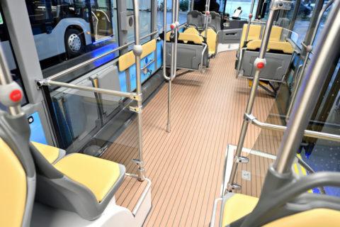 Außergewöhnliches Design für fünf Mercedes-Benz Citaro beim Omnibusverkehr Spillmann Foto: Fahrzeug Skipper