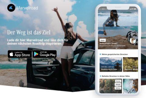 Die Mercedes-Benz Roadtrip-Apps - Mit den digitalen Reisplaner Sehenswürdigkeiten im Urlaub entdecken