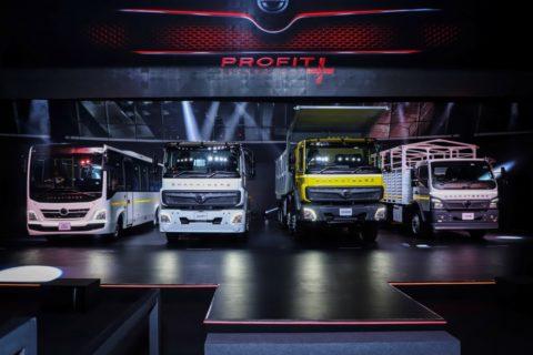 BharatBenz stellte seine neuen Lkw und Busse für den indischen Markt vor