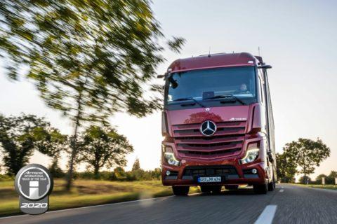 Vielfach preisgekrönt und erfolgreich im Einsatz – Der neue Actros ist der Truck der 2020er Jahre