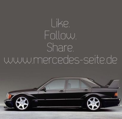 Liken Sie mercedes-seite.de auf Facebook und folgen Sie uns auf Twitter. Sie finden uns auch bei Instagram (mercedesminusseitepunktde).