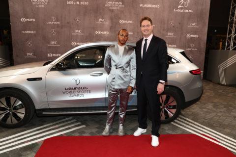 Lewis Hamilton als Laureus Sportsman of the Year ausgezeichnet