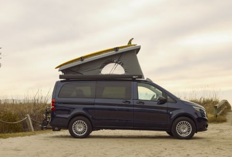"Mercedes-Benz Metris ""Pop-Up Camper"""
