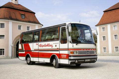 Jubiläum: 65 Jahre Setra Clubbusse Foto: Ein S 208 H (1979)