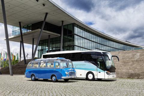 Jubiläum: 65 Jahre Setra Clubbusse