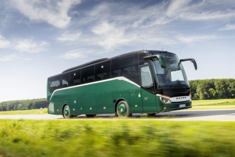 Jubiläum: 65 Jahre Setra Clubbusse Foto: Ein Setra Setra S 515 HD (2019)