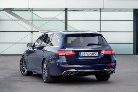 Umfangreiches Update mit frischer Optik und noch sportlicherer Ausstattung: Die neuen Business-Class-Modelle E 53 4MATIC+ Limousine und T-Modell
