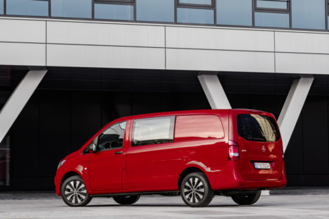 Vorstellung: Der neue Mercedes-Benz Vito und eVito Tourer - Attraktives Upgrade für den Transporter mit Stern Foto:  Vito Mixto