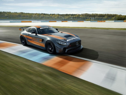 Jubiläum: Zehn Jahre Mercedes-AMG Customer Racing - GT-Erfolge made in Affalterbach Foto: Der Mercedes-AMG GT4