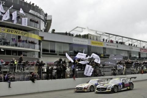Jubiläum: Zehn Jahre Mercedes-AMG Customer Racing - GT-Erfolge made in Affalterbach Foto: Sieger 24h-Rennen Nürburgring 2013, SLS AMG GT3