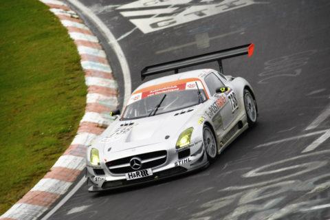 Jubiläum: Zehn Jahre Mercedes-AMG Customer Racing - GT-Erfolge made in Affalterbach Foto: Erster Sieg des SLS AMG GT3 auf der Nürburgring-Nordschleife 2010