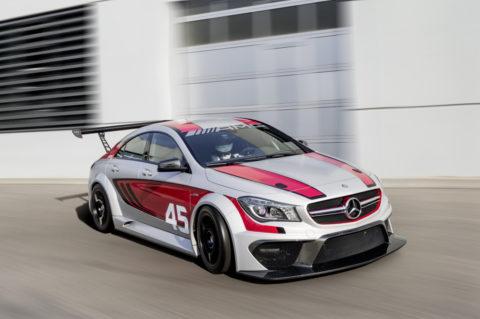 Jubiläum: Zehn Jahre Mercedes-AMG Customer Racing - GT-Erfolge made in Affalterbach Foto: CLA 45 AMG Racing Series
