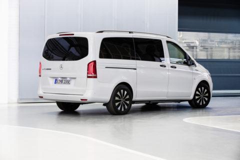 Vorstellung: Der neue Mercedes-Benz Vito und eVito Tourer - Attraktives Upgrade für den Transporter mit Stern Foto: eVito Tourer