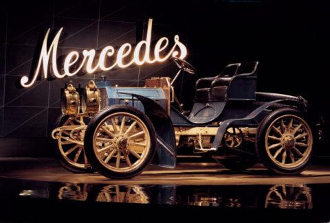 Jubiläum des Markennamens: 120 Jahre Mercedes – das Mädchen und die Marke