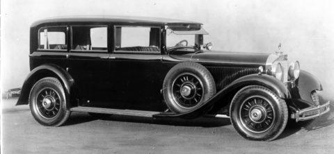 """Rollende Pracht: Der Repräsentationswagen Typ """"Großer Mercedes"""" Foto: Pullman-Limousine aus dem Jahr 1931"""