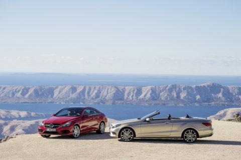 Sportlich-elegante Zweitürer mit großem Flair - Die Mercedes-Benz E-Klasse Coupés und Cabriolets Foto: E-Klasse Coupé und Cabriolet Modelljahr 2013