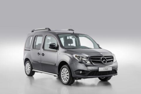 Mercedes-Benz Citan Sondermodelle Yorker Plus und Tourer Rise
