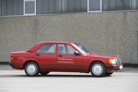 1990 Ein Pionier der E-Mobilität: Der Mercedes-Benz 190 mit Elektroantrieb