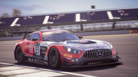 Der Mercedes-AMG GT3 startet virtuell weiter durch Foto: Mercedes-AMG GT3, Arno Santamato, AKKA ASP Team, SRO E-Sport GT Series