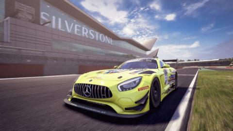 Der Mercedes-AMG GT3 startet virtuell weiter durch Foto: Mercedes-AMG GT3, Kang Ling, ARC BRATISLAVA, SRO E-Sport GT Series