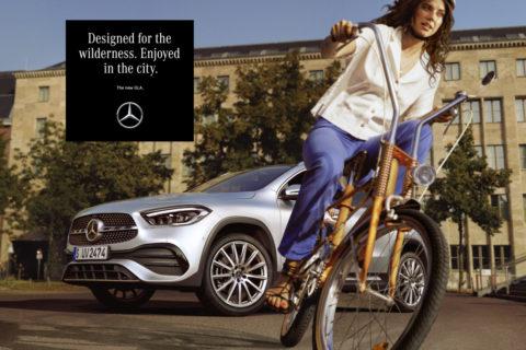 Gedacht für die Wildnis. Gemacht für Euch. - Die Kampagne zum neuen Mercedes-Benz GLA