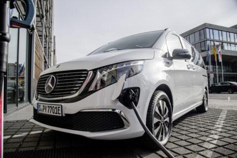 Verkaufsstart für den Mercedes-Benz EQV - Die elektrische Großraumlimousine für Familie, Freizeit und Business