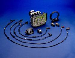 Vor 25 Jahren: Serienpremiere des Elektronischen Stabilitäts-Programms ESP® Foto: Komponenten des Elektronischen Stabilitäts-Programms ESP®