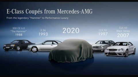 Am 27. Mai präsentiert Mercedes-Benz das neue E-Klasse Coupé und Cabriolet