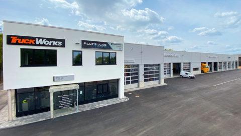 Neues Nutzfahrzeugzentrum des Stern-Centers in Regensburg