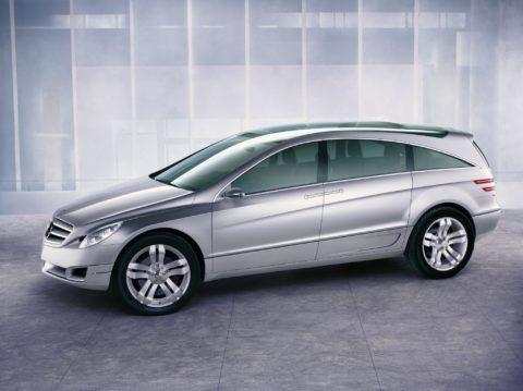 Vor 18 Jahren: Die Mercedes-Benz Vision GST präsentiert eine neue Fahrzeugklasse