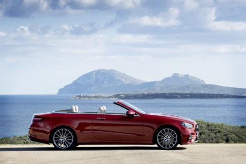 Vorstellung: Dynamisch, effizient, emotional, liebenswert - Das modellgepflegte Mercedes-Benz E-Klasse Cabriolet