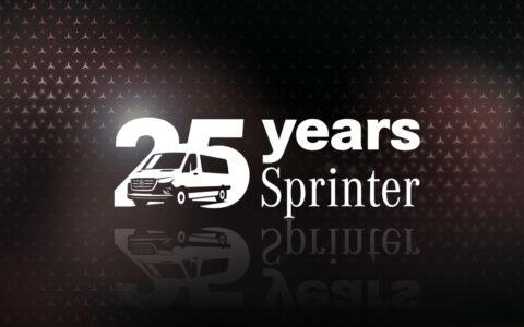 Jubiläum: 25 Jahre Mercedes-Benz Sprinter – Pionier seiner Fahrzeugklasse