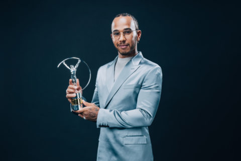 Lewis Hamilton, Laureus World Sport Awards, Berlin, Mercedes-AMG Petronas F1 Team   Lewis Hamilton, Laureus World Sport Awards, Berlin, Mercedes-AMG Petronas F1 Team