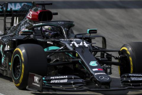 Formel 1 - Mercedes-AMG Petronas Motorsport, Großer Preis von Spanien 2020. Lewis Hamilton   Formula One - Mercedes-AMG Petronas Motorsport, Spanish GP 2020. Lewis Hamilton