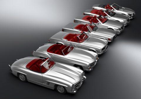 Mit mehr als 60 Jahre Tradition: Mercedes-Benz SL