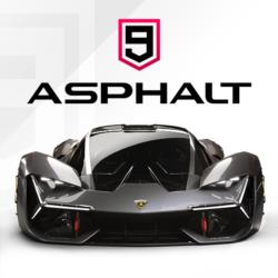 Icon von Asphalt 9 bei Google Play.