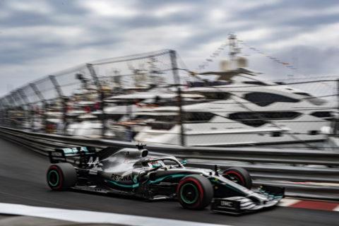 Formel 1 - Mercedes-AMG Petronas Motorsport, Großer Preis von Monaco 2019. Lewis Hamilton